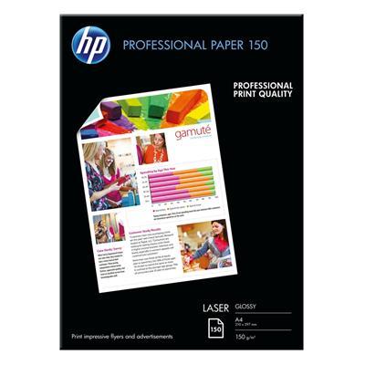 Εικόνα της Επαγγελματικό Χαρτί Εκτύπωσης HP A4 Glossy 150g/m² 150 Φύλλα CG965A
