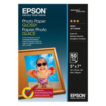 Εικόνα της Φωτογραφικό Χαρτί Epson 13 x 18 cm Glossy 200g/m² 50 Φύλλα C13S042545