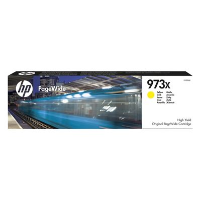 Εικόνα της Μελάνι PageWide HP No 973X Yellow HC F6T83AE
