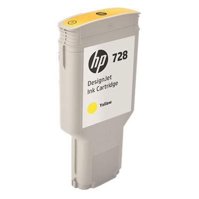 Εικόνα της Μελάνι HP No 728 Yellow 300ml F9K15A