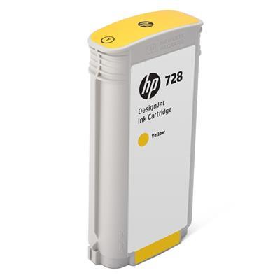 Εικόνα της Μελάνι HP No 728 Yellow 130ml F9J65A