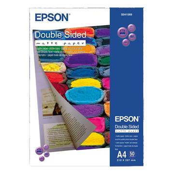 Εικόνα της Φωτογραφικό Χαρτί Epson A4 Double Sided Matte 178g/m² 50 Φύλλα C13S041569
