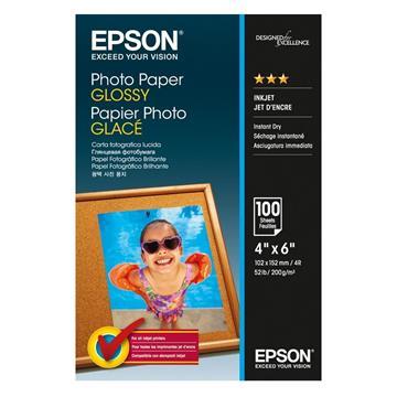 Εικόνα της Φωτογραφικό Χαρτί Epson A6 Glossy 200g/m² 100 Φύλλα C13S042548