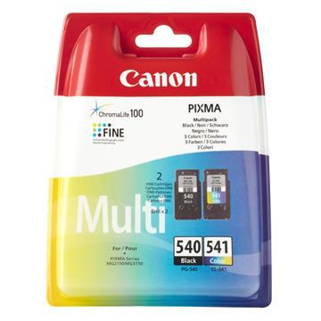 Εικόνα της Πακέτο 2 Μελανιών Canon PG-540 και CL-541 Black και Colour 5225B006