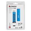 Εικόνα της Kingston Data Traveler 2000 16GB USB 3.0 with AES 256bit Hardware Encrypted DT2000/16GB