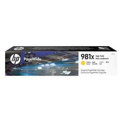 Εικόνα της Μελάνι HP No 981X Yellow HC L0R11A
