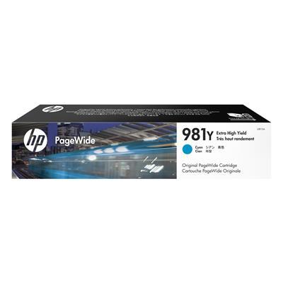 Εικόνα της Μελάνι HP No 981Y Cyan Extra HC L0R13A