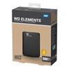 """Εικόνα της Εξωτερικός Σκληρός Δίσκος Western Digital Elements 500GB USB 3.0 2.5"""" Black WDBUZG5000ABK-EESN"""