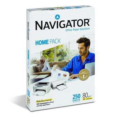 Εικόνα της Χαρτί Εκτύπωσης Navigator (Home Pack) A4 80gr 250 Φύλλα (1 Δεσμίδα)