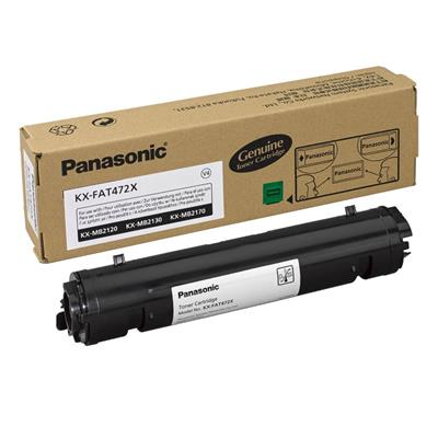 Εικόνα της Toner Panasonic Black KX-FAT472X