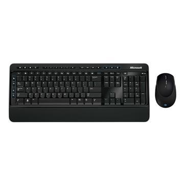 Εικόνα της Πληκτρολόγιο-Ποντίκι Microsoft Wireless 3050 AES GR Black PP3-00016