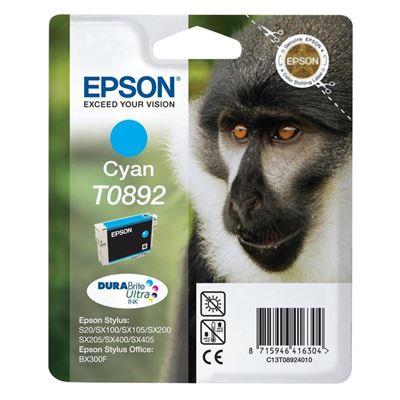 Εικόνα της Μελάνι Epson T0892 Cyan C13T089240