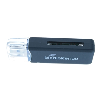 Εικόνα της Card Reader Stick MediaRange USB 2.0 Black MRCS506