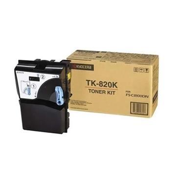 Εικόνα της Toner Kyocera / Mita Black TK-820K 1T02HP0EU0