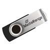 Εικόνα της MediaRange USB 2.0 Flash Drive 16GB Black/Silver MR910