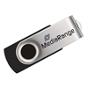 Εικόνα της MediaRange USB 2.0 Flash Drive 4GB Black/Silver MR907