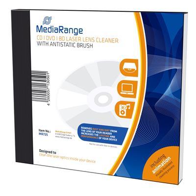 Εικόνα της MediaRange CD/DVD/BluRay Laser Lens Cleaner with Antistatic Brush MR725