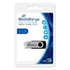 Εικόνα της MediaRange USB 2.0 Flash Drive 8GB Black/Silver MR908