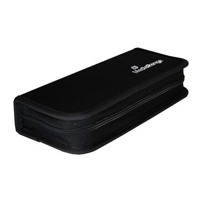 Εικόνα της MediaRange Storage Wallet for 10 USB Flashdrives and 5 SD Memorycards Nylon Black BOX99