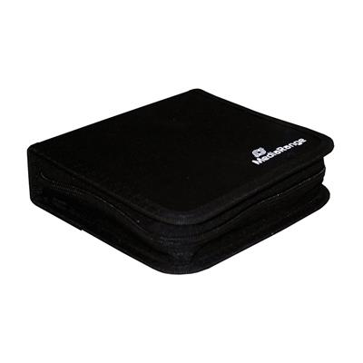 Εικόνα της MediaRange Storage Wallet for 24 Discs Nylon Black BOX50