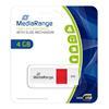 Εικόνα της MediaRange USB 2.0 Flash Drive 4GB White/Red MR970