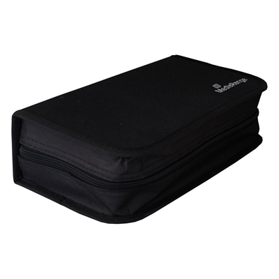 Εικόνα της MediaRange Storage Wallet for 96 Discs Nylon Black BOX55