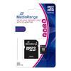 Εικόνα της Κάρτα Μνήμης MicroSDHC Class 10 MediaRange 8GB with SD Adapter MR957