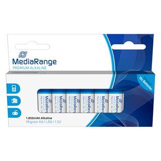 Εικόνα της Αλκαλικές Μπαταρίες MediaRange Premium AA, 1.5V, LR6, 10 Pack MRBAT105