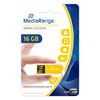 Εικόνα της MediaRange USB 2.0 Nano Flash Drive Paper-Clip 16GB Yellow MR976