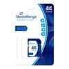 Εικόνα της Κάρτα Μνήμης SDHC Class 10 MediaRange 16GB MR963