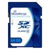 Εικόνα της Κάρτα Μνήμης SDXC Class 10 MediaRange 64GB MR965