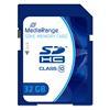 Εικόνα της Κάρτα Μνήμης SDHC Class 10 MediaRange 32GB MR964