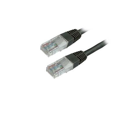Εικόνα της Καλώδιο MediaRange UTP CAT.6 RJ45/RJ45 2m Black MRCS125