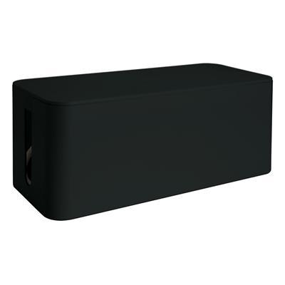 Εικόνα της MediaRange Cable Tidy Box Small-Sized 233x118x114 mm Black MRCS306