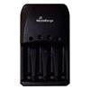 Εικόνα της Φορτιστής Μπαταριών MediaRange Plug-in Charger 4 Υποδοχές AA/AAA Ni-MH & Ni-Cd MRBAT191