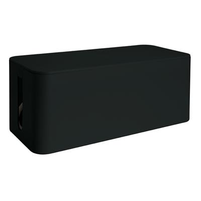 Εικόνα της MediaRange Cable Tidy Box Big-Sized 405x133x155 mm Black MRCS308