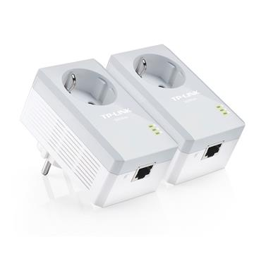 Εικόνα της Powerline Tp-Link PA4010P v3 AV500 Passthrough Starter Kit