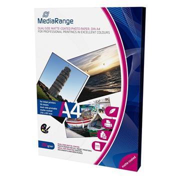 Εικόνα της Φωτογραφικό Χαρτί MediaRange A4 Dual-Side Matte 250g/m² 50 Φύλλα MRINK112