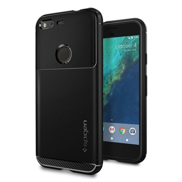 Εικόνα της Θήκη Spigen Google Pixel Ruged Armor Black F14CS20889
