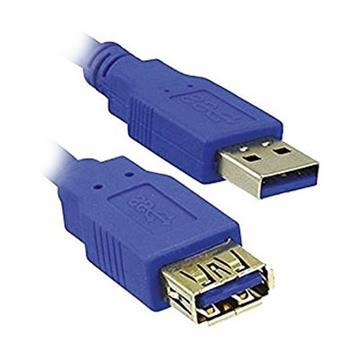 Εικόνα της Καλώδιο MediaRange USB 3.0 Προέκταση AM/AF 1.8m Blue MRCS151