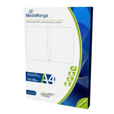Εικόνα της MediaRange Inserts for 14mm DVD Cases Matte 50 Pack MRINK121