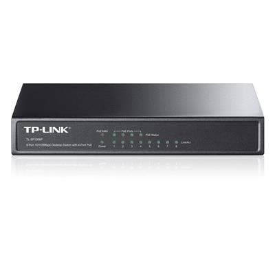 Εικόνα της Switch Tp-Link SF1008P v4 8 Port POE 10/100 Mbps