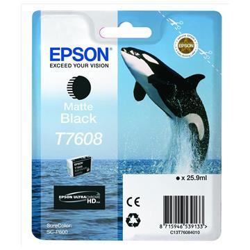 Εικόνα της Μελάνι Epson T7608 Matte Black C13T76084010