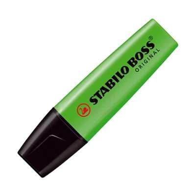 Εικόνα της Μαρκαδόρος Υπογράμμισης Stabilo Boss 70/33 2 - 5 mm Green