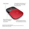 Εικόνα της Ποντίκι HP Z3700 Wireless Red V0L82AA