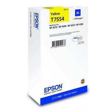 Εικόνα της Μελάνι Epson T7554 Yellow XL C13T755440