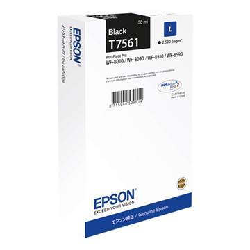 Εικόνα της Μελάνι Epson T7561 Black C13T756140