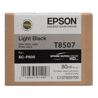 Εικόνα της Μελάνι Epson T8507 Light Black C13T850700