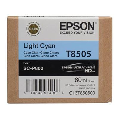 Εικόνα της Μελάνι Epson T8505 Light Cyan C13T850500