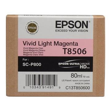 Εικόνα της Μελάνι Epson T8506 Light Magenta C13T850600
